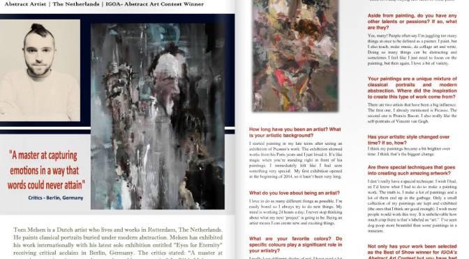 Interview Exquisite Art Magazine